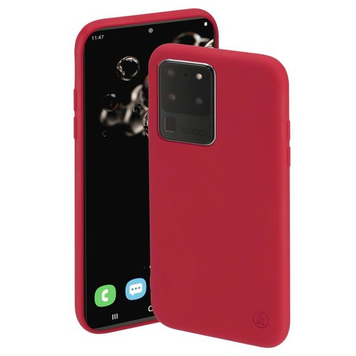Hama Cover Finest Feel Samsung Galaxy S20 Ultra 5G Rot