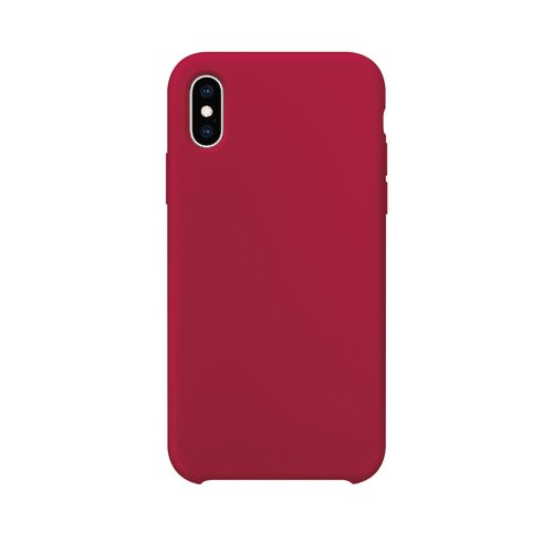STRAX Silicone iPhone X/XS Rot