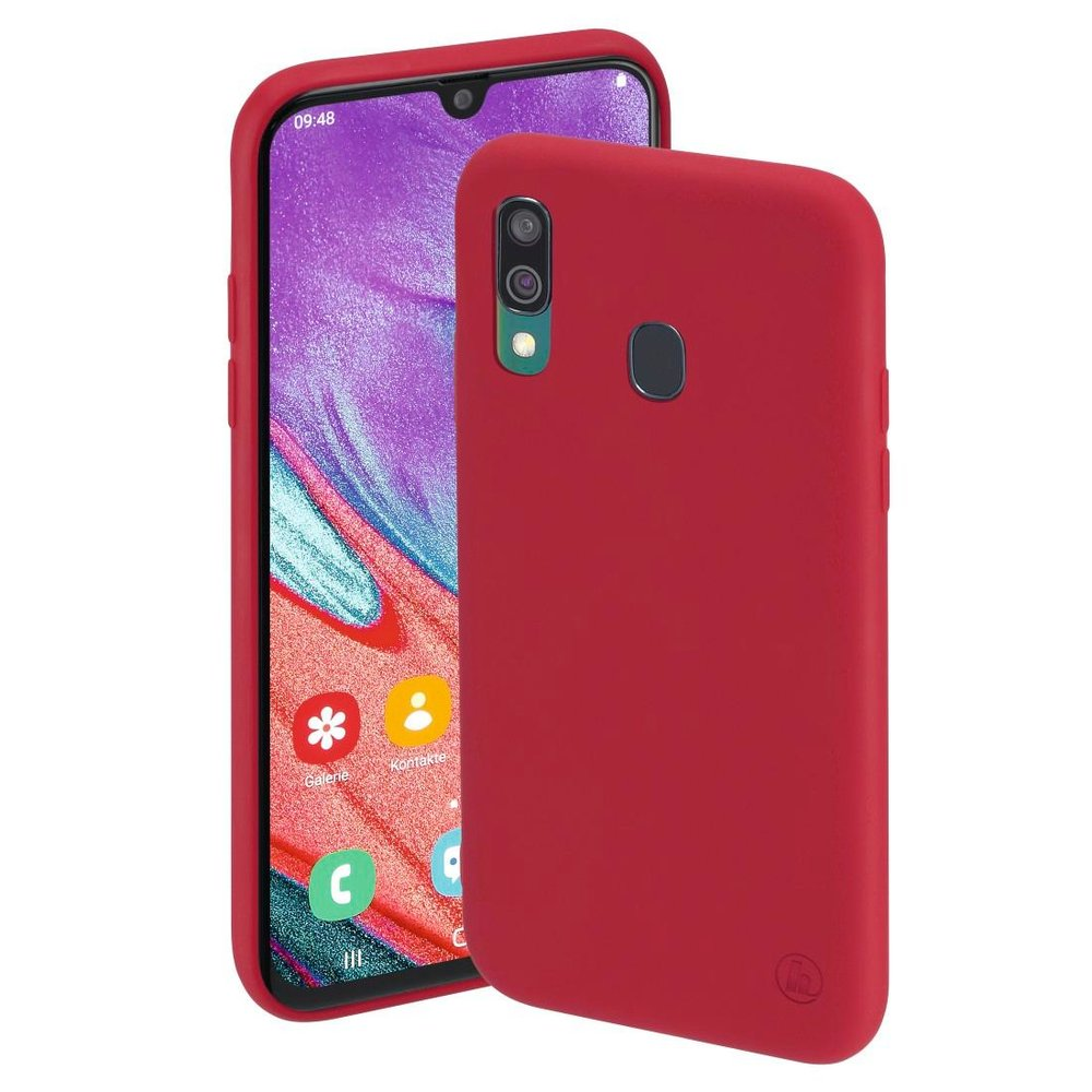 "Hama Cover ""Finest Feel"" Samsung Galaxy A40 Rot"