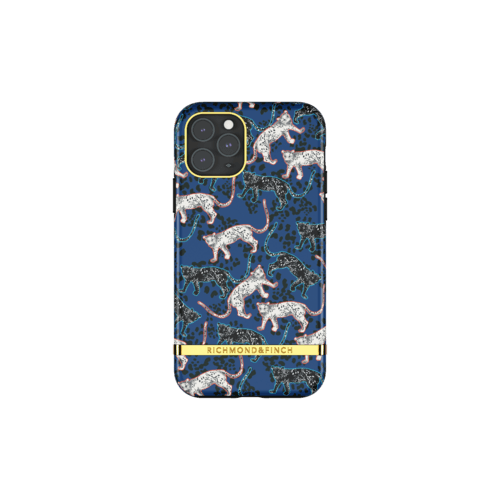 Richmond & Finch Blue Leopard iPhone 11 Pro iPhone 11 Pro Blau