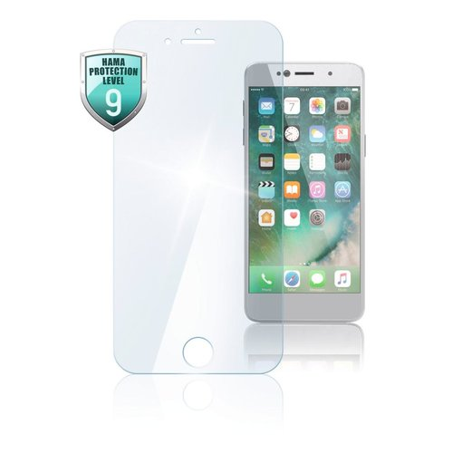 "Hama Echtglas-Displayschutz ""Premium Crystal Glass"" Apple iPhone 5/5s/5c/SE Transparent"