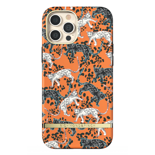 Richmond & Finch Orange Leopard iPhone 12 Pro Max iPhone 12 Pro Max Orange