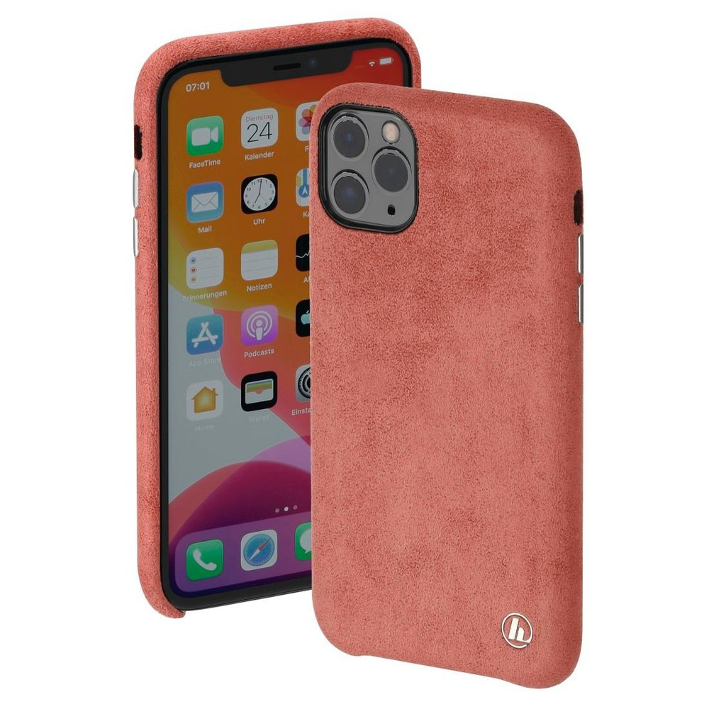 "Hama Cover ""Finest Touch"" Apple iPhone 12 Pro Max Coral"