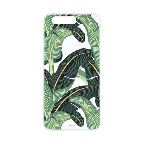 STRAX iPlate Banana Leaves Honor 9 Mehrfarbig
