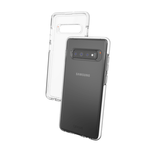Gear4 Cover Piccadilly sw Samsung S10+ Schwarz