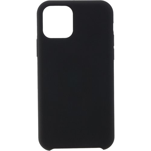 Peter Jäckel Back Cover Soft Touch Apple iPhone 12/ 12 Pro Schwarz