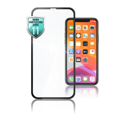 Hama 3D-Full-Screen-Schutzglas Apple iPhone XS Max/11 Pro Max Transparent