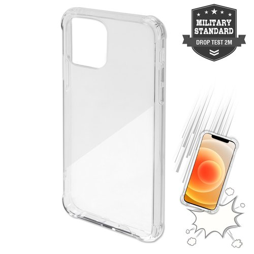 4Smarts Hard Cover IBIZA Apple iPhone 12 mini Transparent