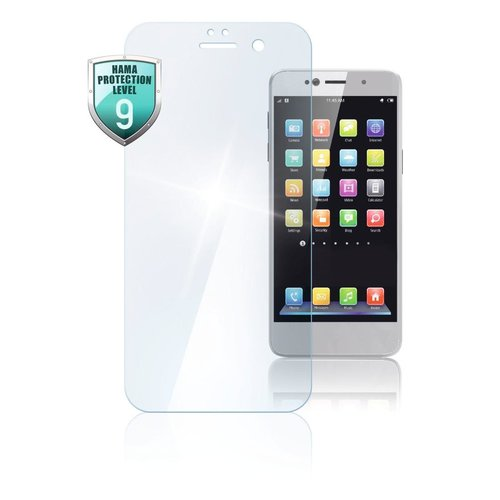 "Hama Echtglas-Displayschutz ""Premium Crystal Glass"" HUAWEI P smart Transparent"