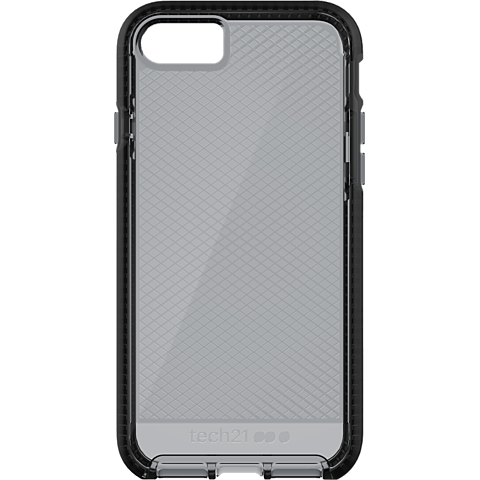 Tech21 Evo Check Apple iPhone SE 8/7 Smokey Black