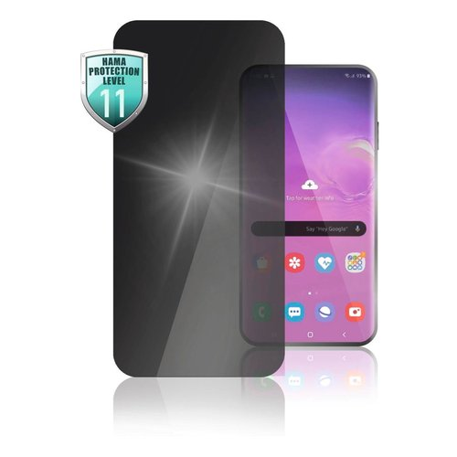 Hama Echtglas-Displayschutz Privacy Samsung Galaxy A21s Transparent