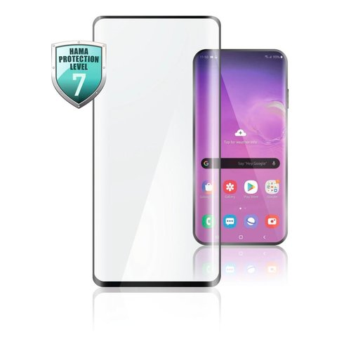 Hama Full-Screen-Schutzglas Samsung Galaxy A21s Schwarz Transparent