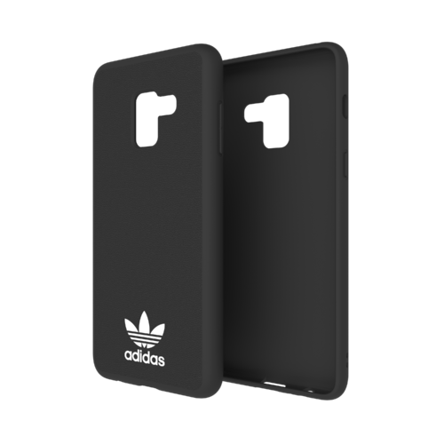 adidas Moulded Case Galaxy A8+ Schwarz