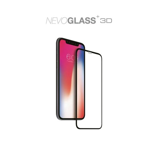 Nevox NEVOGLASS 3D iPhone 12 und iPhone 12 Pro (6.1) curved glass ohne EASY APP Transparent