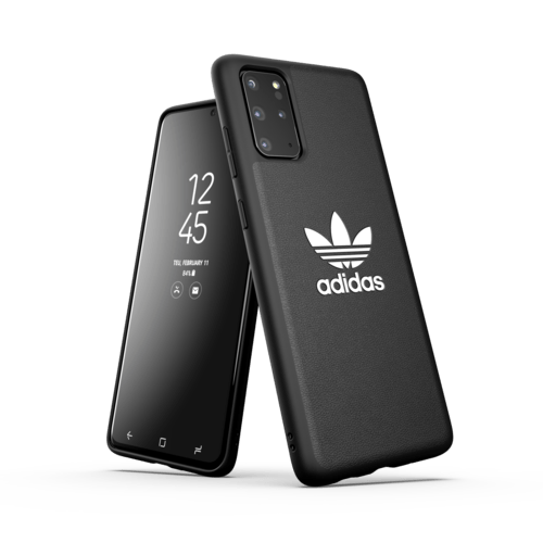 adidas Moulded case Trefoil Galaxy S20+ Schwarz