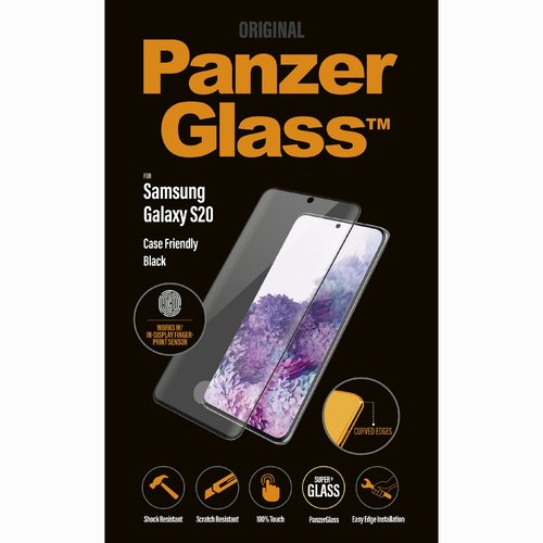 PanzerGlass CaseFriendly FP Galaxy S20 Schwarz