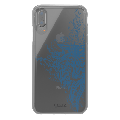 Gear4 Chelsea Tattoo Art iPhone X iPhone XS Mehrfarbig