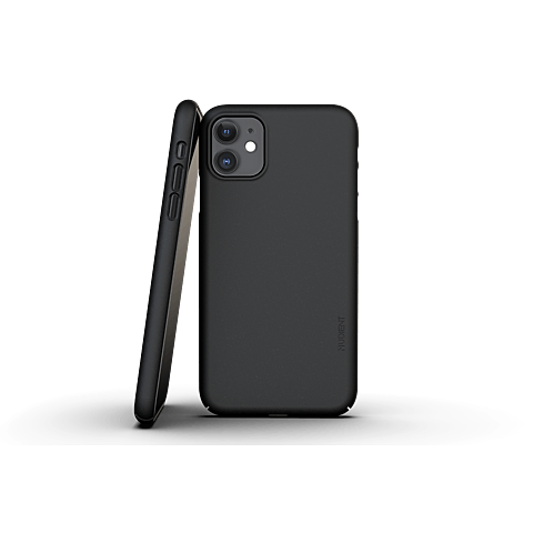 Nudient Slim Cover V3 Apple iPhone 11 Schwarz