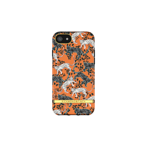 Richmond & Finch Orange Leopard iPhone 6/7/8/SE IPhone 6/6s/7/8/SE 2G Orange