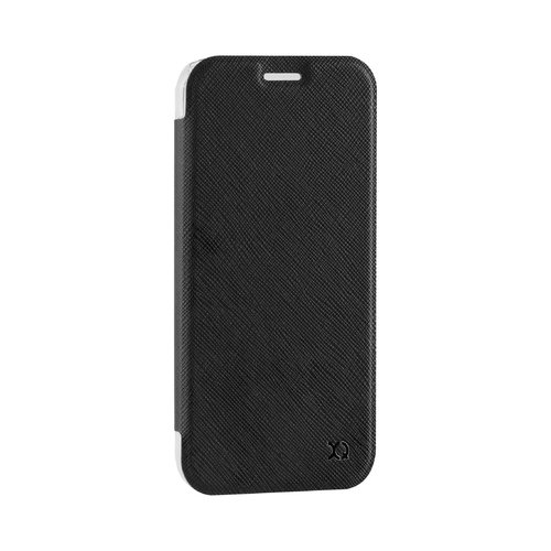 STRAX Flap Cover Adour Galaxy A3 (2017) Schwarz