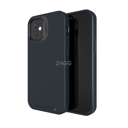 Gear4 Rio SNAP iPhone 12 mini Schwarz