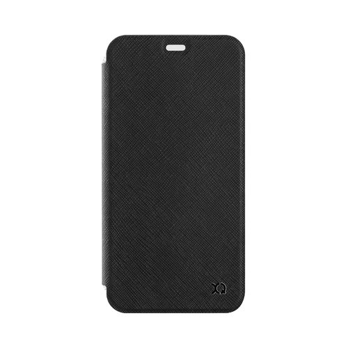 STRAX Flap Cover Adour iPhone XS Max Schwarz