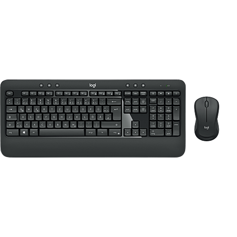 Logitech MK540 Advanced Wireless Tastatur-Maus-Set Schwarz