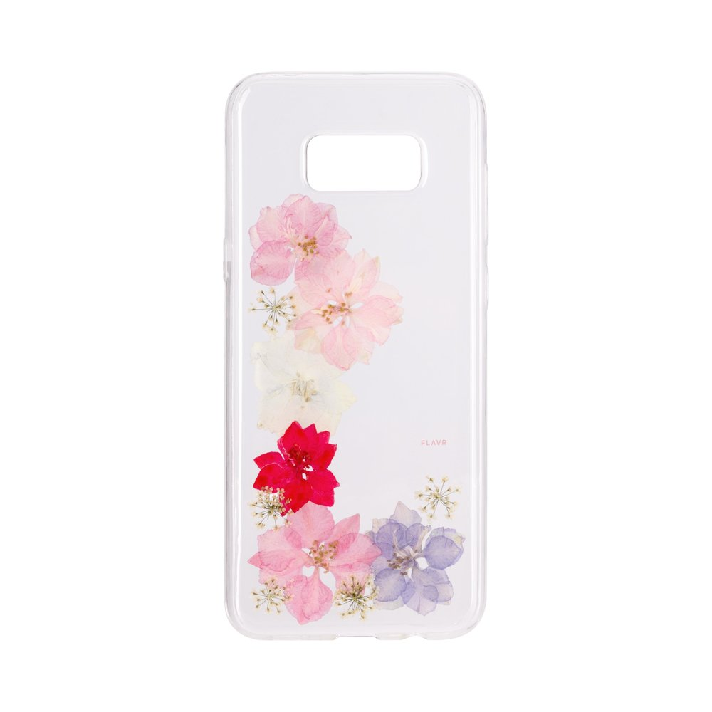STRAX iPlate Real Flower Grace Galaxy S8+ Mehrfarbig