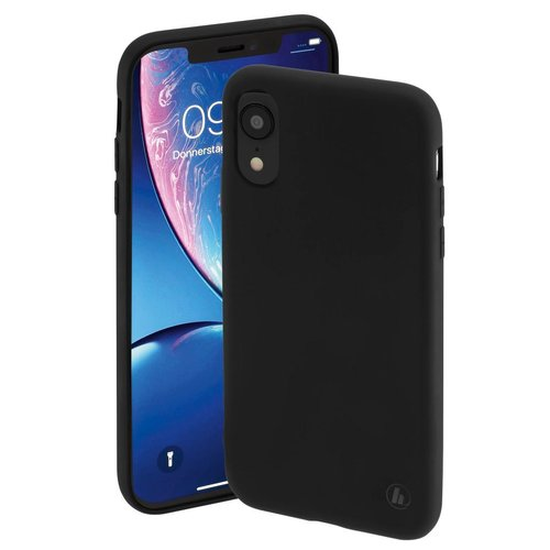 Hama Cover Finest Feel Apple iPhone XR Schwarz