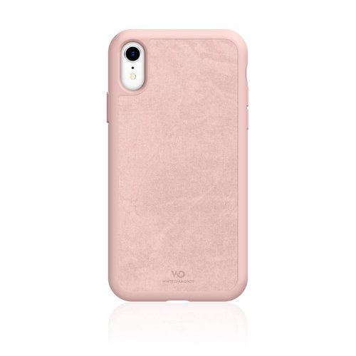 White Diamonds Cover Promise Apple iPhone XR Coral