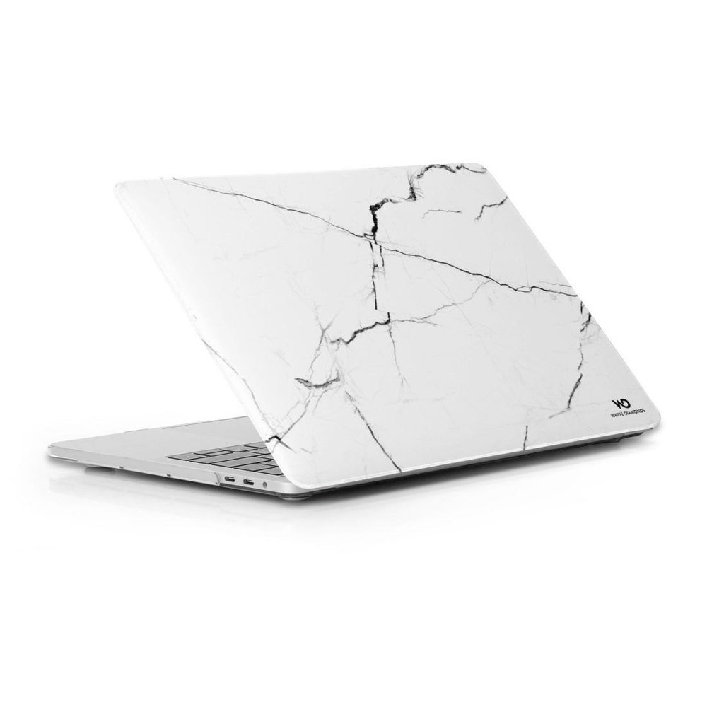 White Diamonds Cover Protective Marble MacBook Pro 13 Marble White Weiß
