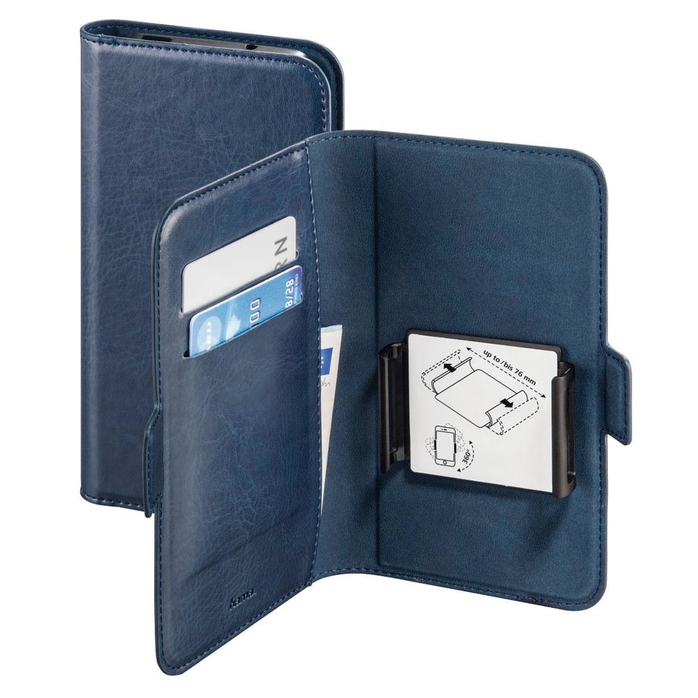 "Hama Smartphone-Booklet Smart Move L (4,0 - 4,5"") Blau"