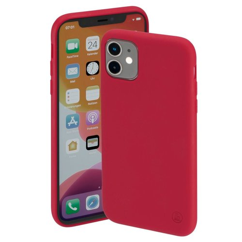 Hama Cover Finest Feel Apple iPhone 12 mini Rot