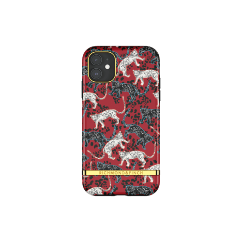 Richmond & Finch Samba Red Leopard iPhone 11 iPhone 11 Rot