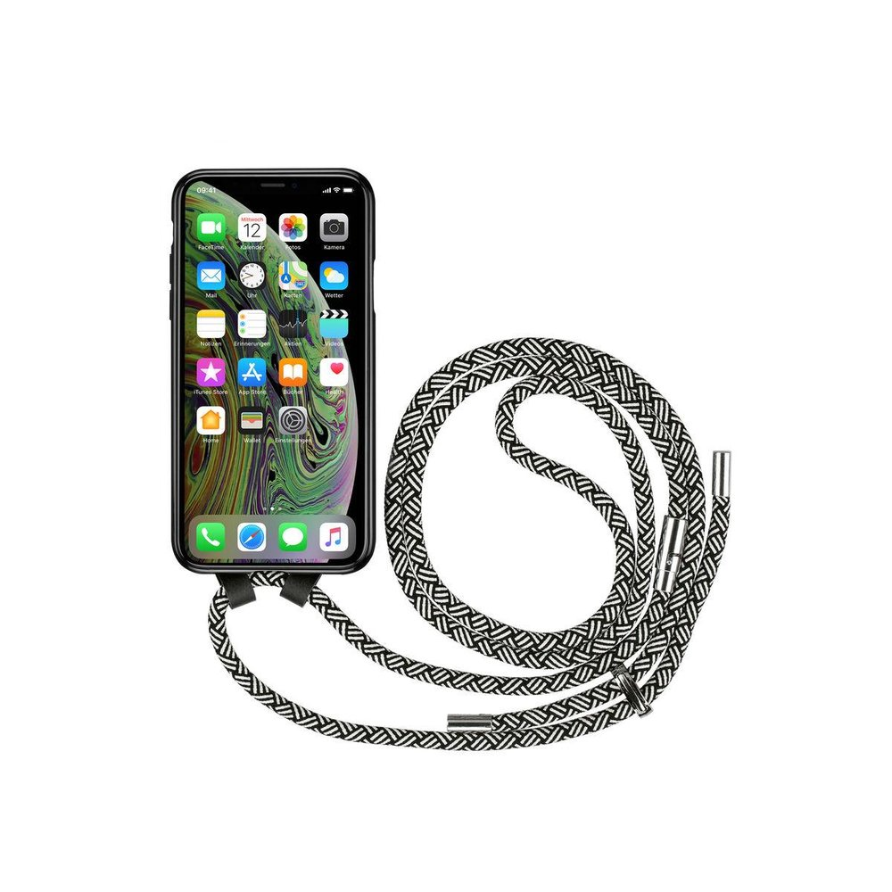 Artwizz HangOn Case iPhone XS iPhone X Schwarz