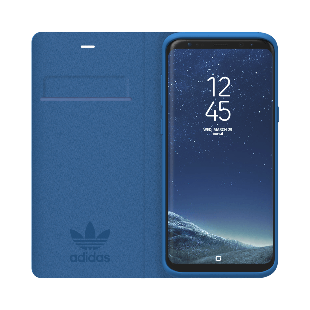 adidas Booklet Case Galaxy S8+ Blau