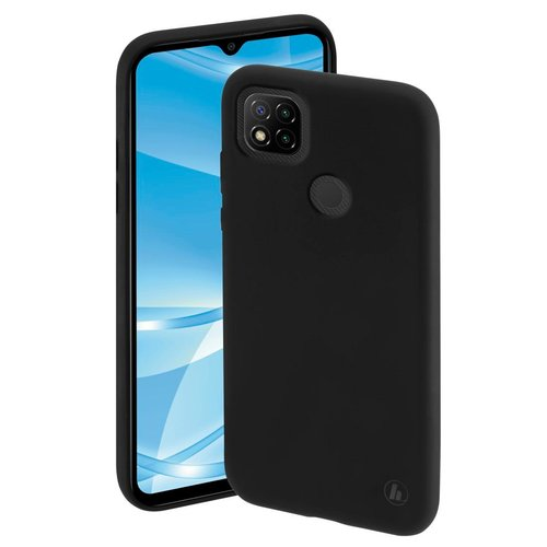 Hama Cover Finest Feel Xiaomi Redmi 9C Schwarz