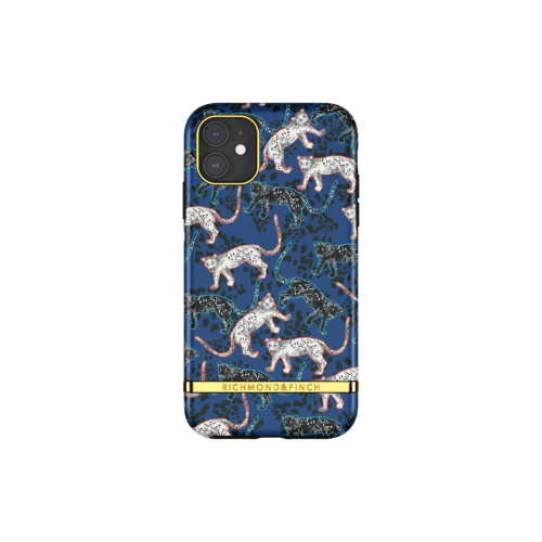 Richmond & Finch Blue Leopard iPhone 11 iPhone 11 Blau