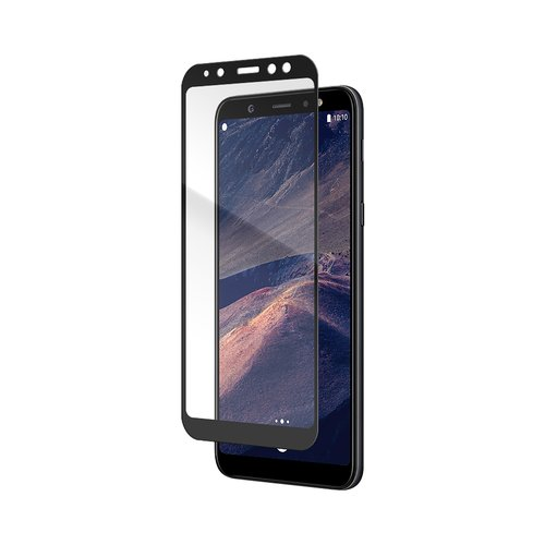 STRAX Glass Full Screen Galaxy A6+ (2018) Schwarz