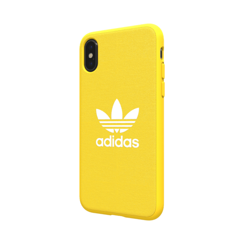 adidas Moulded Case CANVAS iPhone X iPhone XS Gelb