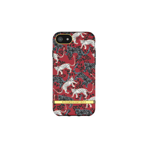 Richmond & Finch Samba Red Leopard iPhone 6/7/8/SE IPhone 6/6s/7/8/SE 2G Rot