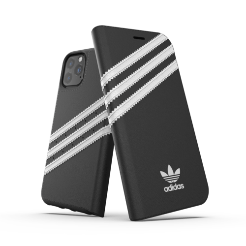 adidas Booklet Case PU iPhone 11 Pro Schwarz