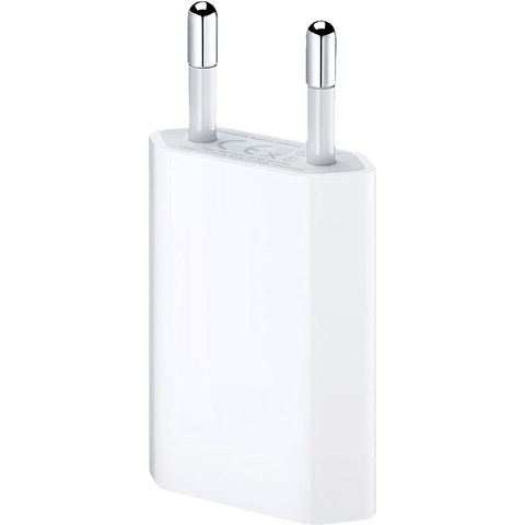 Apple USB Power Adapter für iPhone weiss