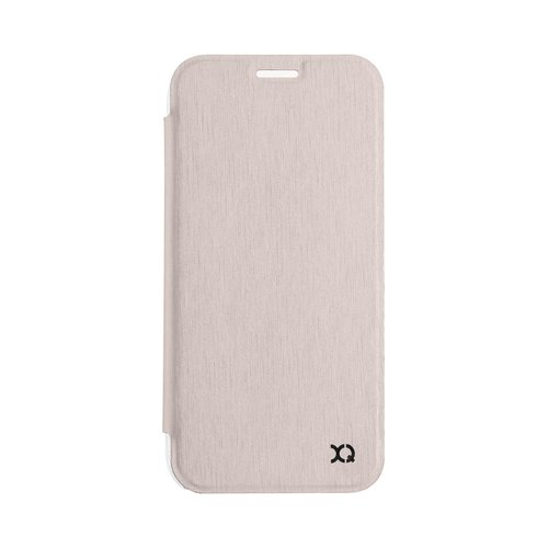 STRAX Flap Cover Adour Galaxy J3 (2017) EU Gold Colored