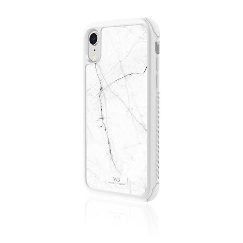 "White Diamonds Cover ""Tough Marble"" Apple iPhone XR Weiß"