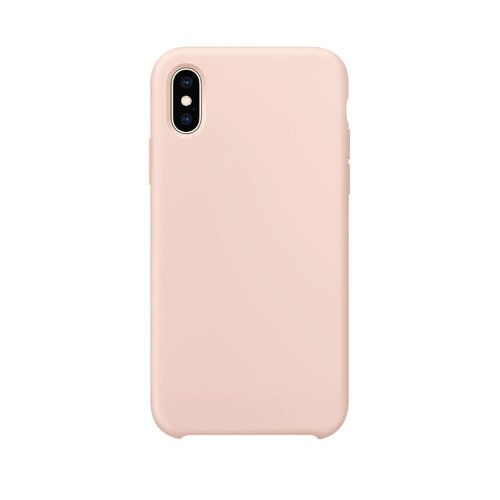STRAX Silicone iPhone X/XS Pink