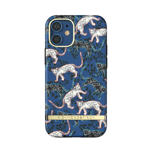 Richmond & Finch Blue Leopard iPhone 12 Mini iPhone 12 mini Blau
