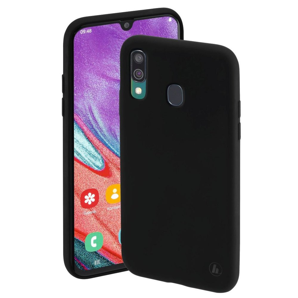 "Hama Cover ""Finest Feel"" Samsung Galaxy A40 Schwarz"