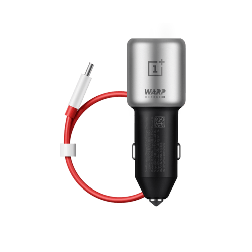 OnePlus Warp Charge 30 Car Charger Grau