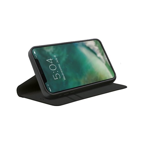 STRAX Eco Wallet Selection Anti Bac iPhone 12 mini Schwarz